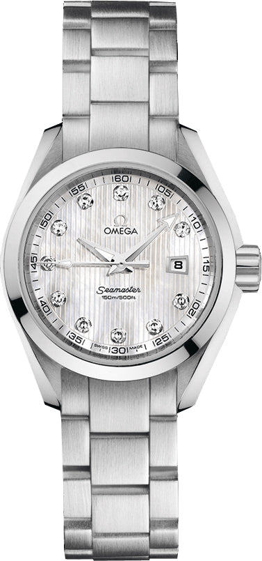 Omega Seamaster Aqua Terra Diamond MOP Women Watch 231.10.30.61.55.001