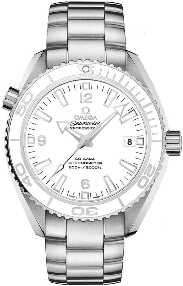 Omega Planet Ocean Diver 42mm White Dial Men Watch 232.30.42.21.04.001