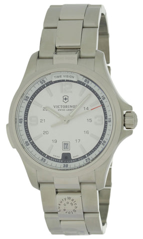 Victorinox Night Vision Chronograph Stainless Steel Men's Watch 241571
