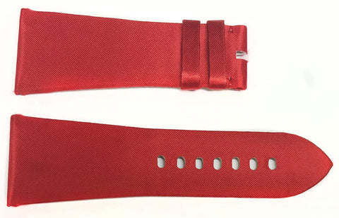 Authentic Cartier Tank Divan Red Satin Bands 29.2MM 1A8JNE28