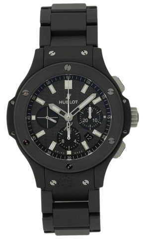 Hublot Big Bang Chrono Carbon Fiber Dial Ceramic Watch  301.CI.1770.CI