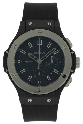 Hublot Big Bang Chrono Black Dial Ceramic Case Watch 301.CK.1140.RX