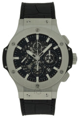 Hublot Big Bang Aero Black Leather Automatic Men Watch 311.SX.1170.GR