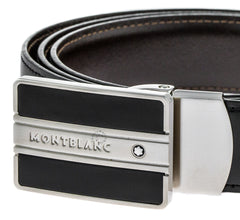 Montblanc 38156 Meisterstück Men's Leather Reversible Belt