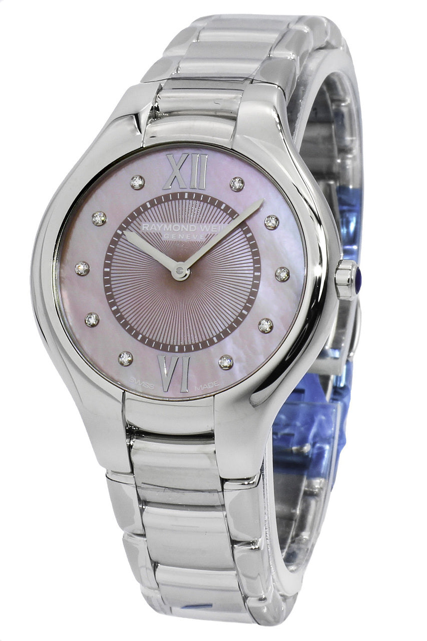 Raymond Weil Noemia Pink Mother of Pearl  Women Watch 5132-ST-00986