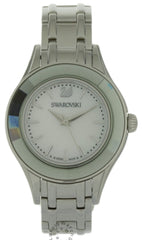 Swarovski Alegria Mother of Pearl Dial Crystals Bezel Watch 5188848