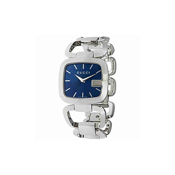 Gucci G-Collection 32x30MM Stainless Steel Blue Dial Women's Watch YA125405
