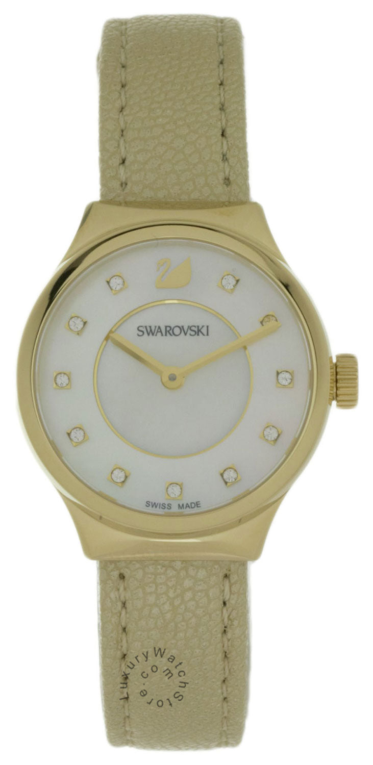 Swarovski Dreamy Mother of Pearl Dial 11 Crystals Women Watch 5213746