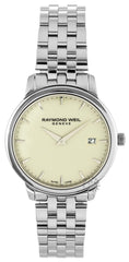 Raymond Weil Toccata 34MM Ivory Dial Steel Women's Watch 5388-ST-40001