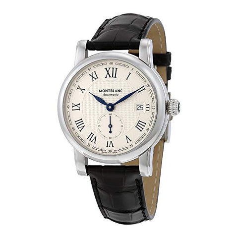 MONTBLANC STAR ROMAN SERIES AUTOMATIC SILVER DIAL MEN'S WATCH 111881