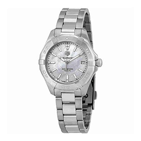 Tag Heuer Aquaracer White Mother of Pearl Dial Women's Watch WBD1311.BA0740