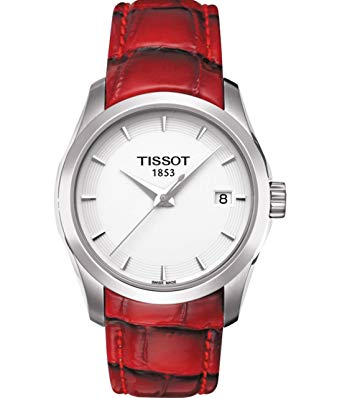 Tissot Couturier White Dial Stainless Steel Case Women's Watch T0352101601101
