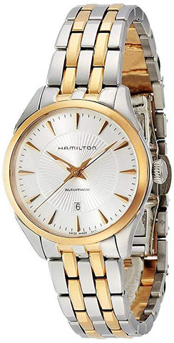 Hamilton JazzMaster 30MM Silver Dial Gold Stainless Steel Women's Watch H42225151