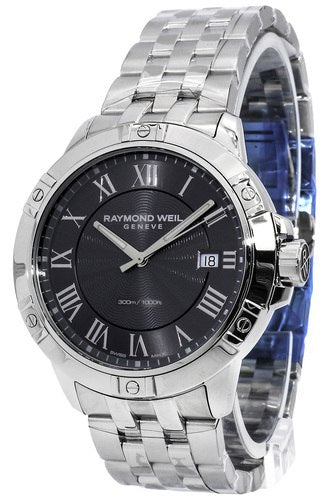 Raymond Weil Tango 41MM Gray Dial Steel Men Watch 8160-ST-00608