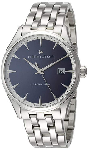 Hamilton Jazzmaster 40MM Blue Dial Stainless Steel Men's Watch H32451141