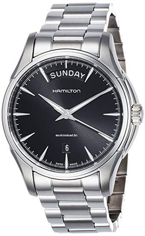 Hamilton Jazzmaster Black Dial Stainless Steel Automatic Men's Watch H32505131