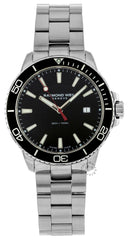 Raymond Weil Tango 42MM Black Dial Rotating Bezel Watch 8260-ST1-20001