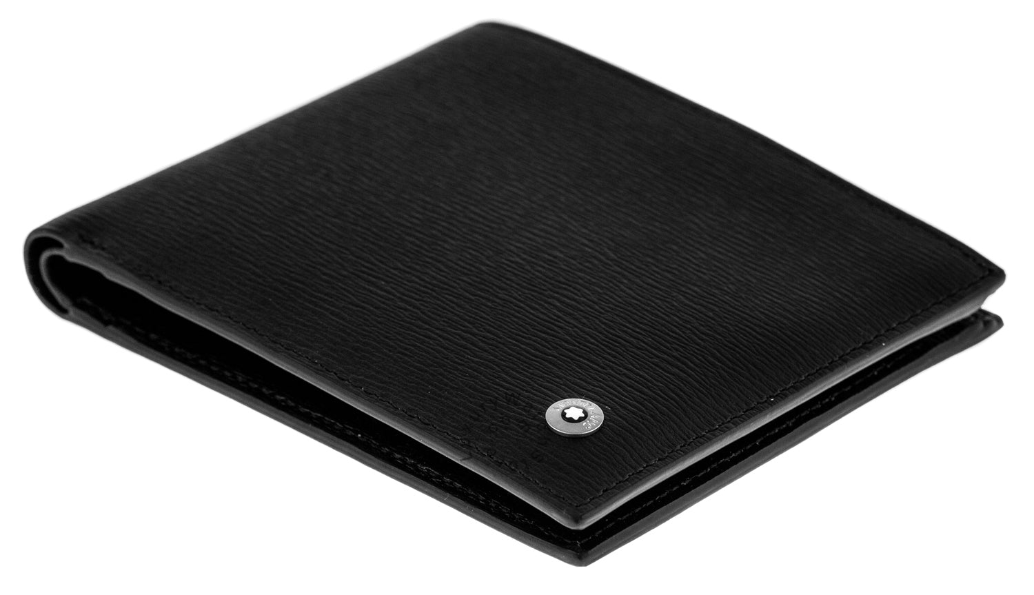 Montblanc Westside 4810 8CC 11 x 9.5cm Black Leather Men's Wallet 8372