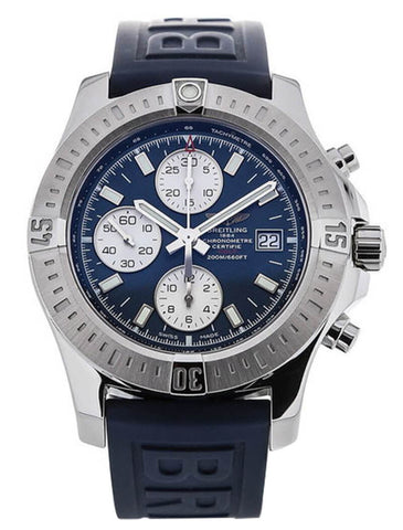 Breitling Colt Chronograph Rubber Auto Men's Watch A1338811/C914/158S