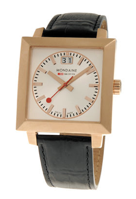Mondaine A685.30336.12SBB EVO Square Rose Gold Men's Watch