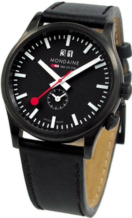 Mondaine A687.30308.64SBB Sport 2nd Time Zone Men's Watch