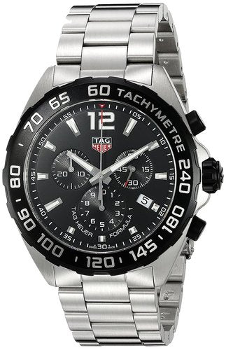 Tag Heuer Formula 1 Chronograph Black Dial Men Watch CAZ1010.BA0842