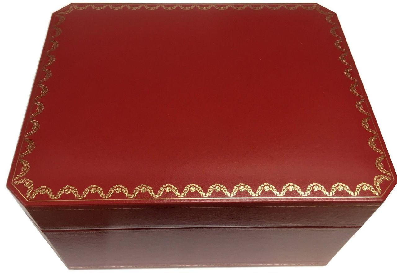 Cartier Red Watch Box + Books + Leather Pouch + Cushion COWA0017