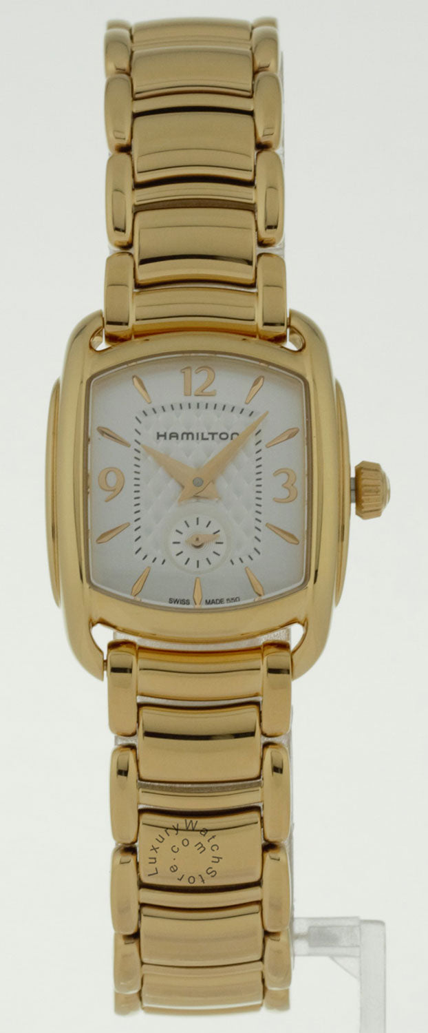 Hamilton Bagley Mother of Pearl Dial Rosegold SS Women Watch H12341155