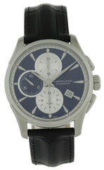 Hamilton Jazzmaster Chronograph Blue Dial Automatic Watch H32596741