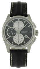 Hamilton Jazzmaster Chronograph BLK Leather Automatic Watch H32596781