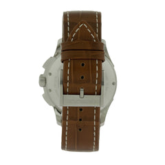 Hamilton H32616553 Jazzmaster Auto Chrono Men's Leather Watch