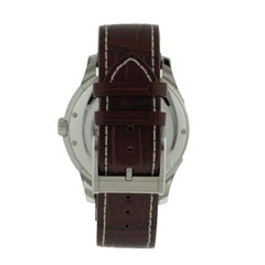 Hamilton Jazzmaster Viewmatic Brown Leather Auto Men's Watch H32715551