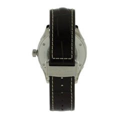 Hamilton Jazzmaster Viewmatic Silver Dial Leather Auto Watch H32755551