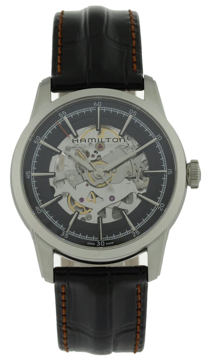 Hamilton American Classic RailRoad Skeleton Automatic Watch H40655731