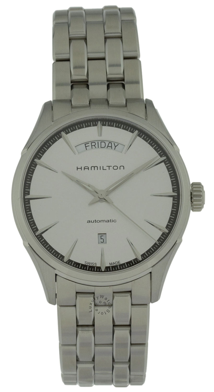 Hamilton Jazzmaster Day Date Silver Dial Automatic Men Watch H42565151