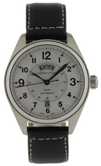 Hamilton Khaki Field Black Leather Date Day Automatic Watch H70505753