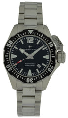 Hamilton Khaki Navy Frogman Black Dial Automatic Men Watch H77605135