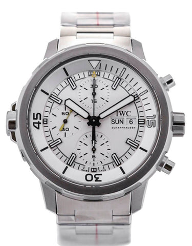 IWC Aquatimer Chronograph Automatic Silver Dial SS Men Watch IW376802