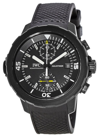 IWC Aquatimer Galapagos Islands Chronograph Rubber Men Watch IW379502