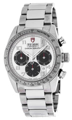 Tudor 42000-95730 SIL ARAB Fastrider Chronograph Silver Dial Men Watch