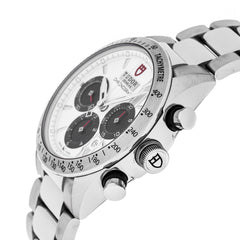 Tudor Fastrider Chronograph White Dial Index Men Watch 42000-95730