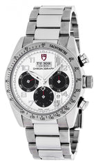 Tudor 42000-95730 WHI ARAB Fastrider Chronograph White Dial Men Watch