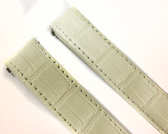 Cartier Roaster White Alligator Leather Authentic Strap KD68JK63