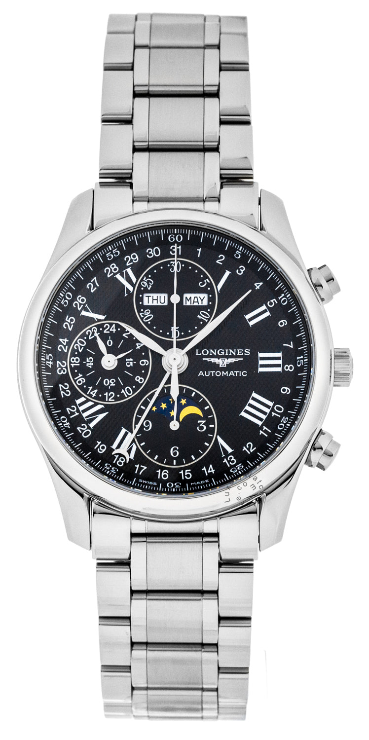 Longines Master Collection 40mm MoonPhase Chronograph Watch L26734516