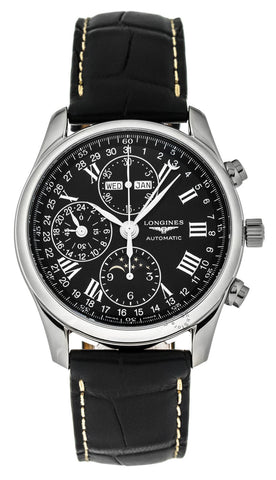 Longines Master Collection 40mm MoonPhase Chronograph Watch L26734517