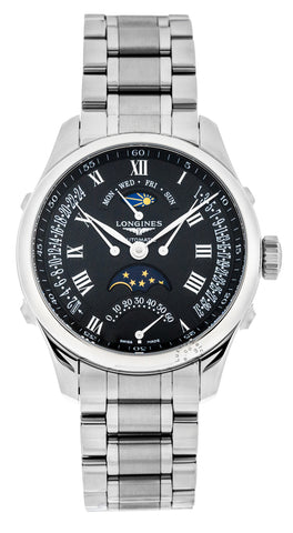 Longines Master Collection 41mm MoonPhase Automatic SS Watch L27384516
