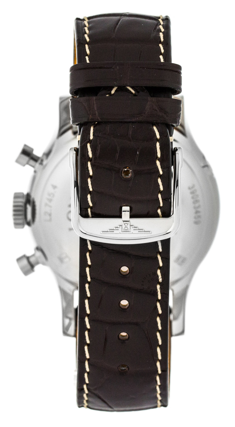 Longines Heritage 41mm Chrono Stainless Steel Men's Watch L27454732