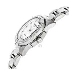 Longines Conquest 29mm Quartz Mother of Pearl Diamond Watch L32580896