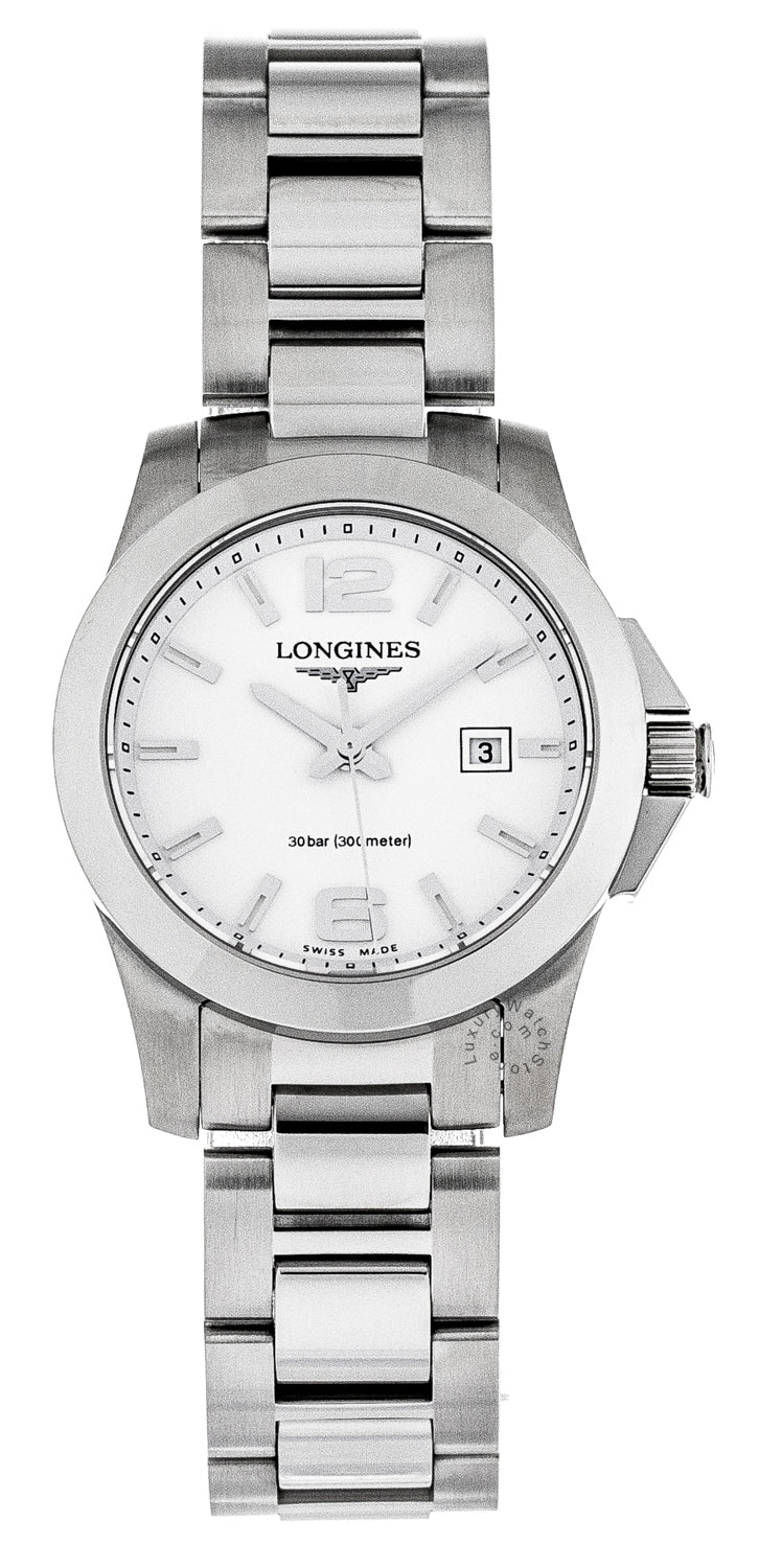 Longines Conquest 29.5mm Quartz Stainless Steel Watch L32774166