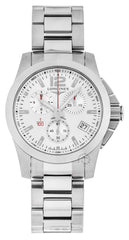 Longines Conquest 41mm Quartz Chronograph SS Men's Watch L37004766